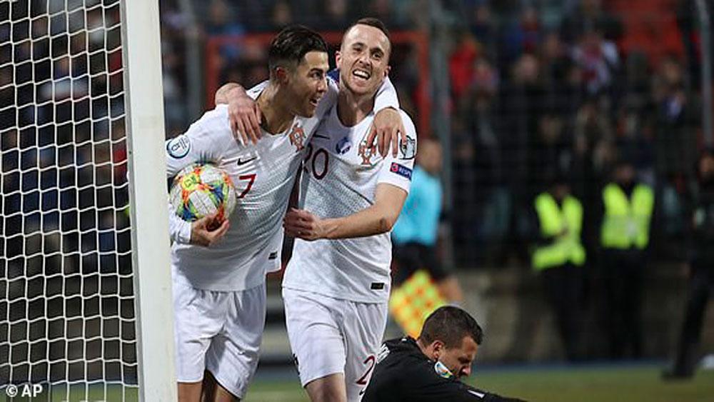 Cristiano Ronaldo ghi bàn, Bồ Đào Nha chính thức giành vé dự Euro 2020